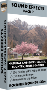 Pack 07 Natural Ambiences: Seaside Countryside Bush Garden Image