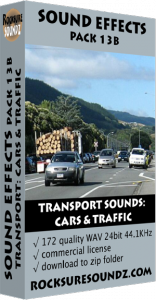Pack 13B Transport Sounds: Cars and Traffic Image