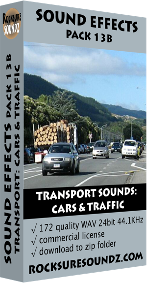 Pack 13B Transport Sounds: Cars and Traffic