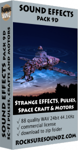 SE_Pk09D Sci-Fi - Strange Effects_ Pulses_ Space Crafts and Motors