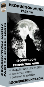 Pack 16 Spooky Loops Production Music Image