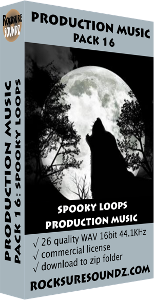 Pack 16 Spooky Loops Production Music