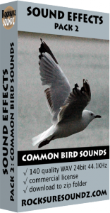 Pack 02 Common Bird Sounds Image