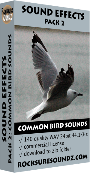 Pack 02 Common Bird Sounds