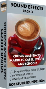 Pack 03 Crowd Ambiences: Markets Cafes Events Schools Image