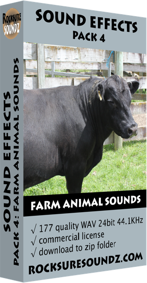 Pack 04 Farm Animal Sounds