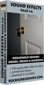 Pack 05A Household Sounds: Doors Draws and Windows Image