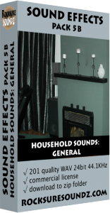 Pack 05B Household Sounds: General Image