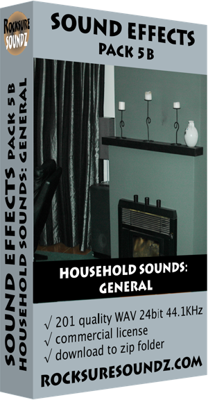 Pack 05B Household Sounds: General