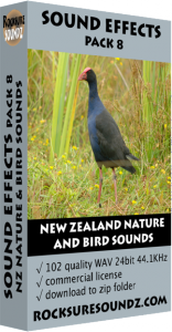 Pack 08 New Zealand Nature and Bird Sounds Image