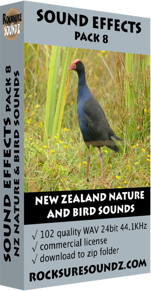 Pack 08 New Zealand Nature and Bird Sounds