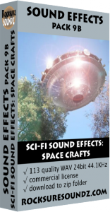 Pack 09B Sci-Fi Sound Effects: Space Crafts Image