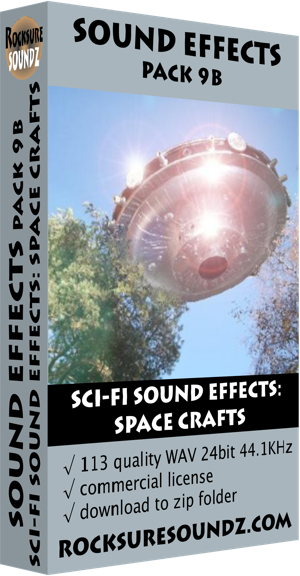 Pack 09B Sci-Fi Sound Effects: Space Crafts