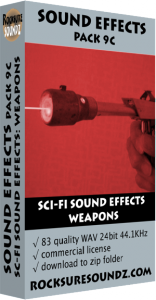 Pack 09C Sci-Fi Sound Effects: Weapons Image