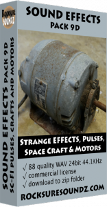 Pack 09D Sci-Fi - Strange Effects, Pulses, Space Crafts & Motors Image