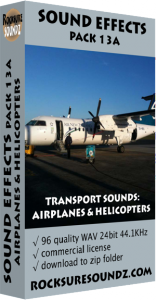 Pack 13A Transport Sounds: Airplanes and Helicopters Image