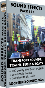 Pack 13C Transport Sounds: Trains Buses and Boats Image