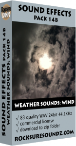 Pack 14B Weather Sounds: Wind Image