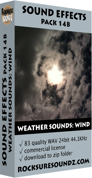 Pack 14B Weather Sounds: Wind