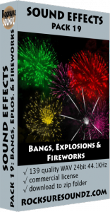 Pack 19 Bangs, Explosions & Fireworks Image