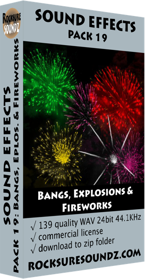 Pack 19 Bangs, Explosions & Fireworks