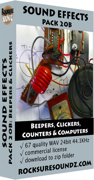 Pack 20B Beepers, Clickers, Counters & Computers ***NEW***