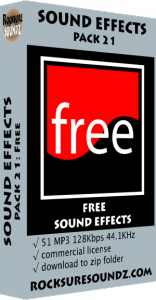Pack 21 Free Sound Effects Image