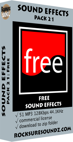 Pack 21 Free Sound Effects