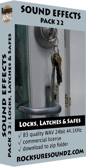 Pack 22 Locks, Latches and Safes ***NEW***