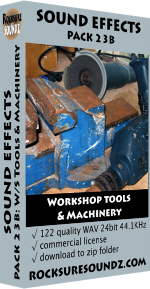Pack 23B Workshop Tools and Machinery ***NEW***