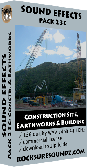 Pack 23C Construction Site, Earthworks and Building ***NEW***